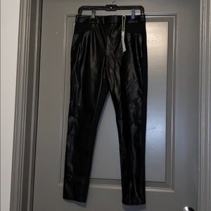 NWT leather pants from BCBG